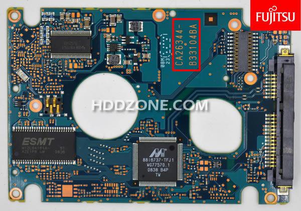 Fujitsu Festplatten Elektronik Tauschen Reparieren