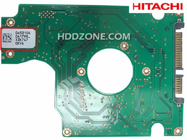 Hitachi Festplatten Elektronik Tauschen Reparieren