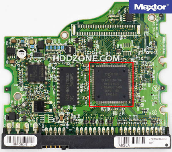 Maxtor Festplatten Elektronik Tauschen Reparieren