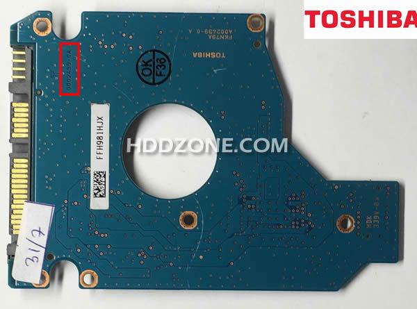 Toshiba Festplatten Elektronik Tauschen Reparieren