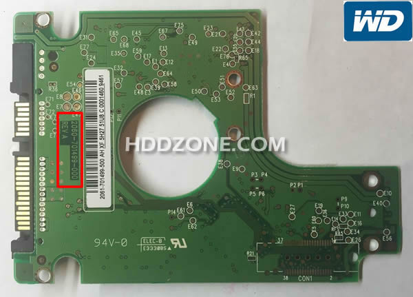 Western Digital Festplatten Elektronik Tauschen Reparieren